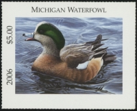 Scan of 2006 Michigan Duck Stamp