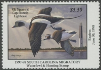 Scan of 1997 South Carolina Duck Stamp