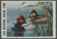 Scan of 1989 Oklahoma Duck Stamp