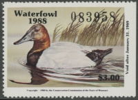 Scan of 1988 Missouri Duck Stamp