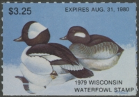 Scan of 1979 Wisconsin Duck Stamp