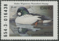 Scan of 1993 Idaho Duck Stamp