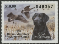 Scan of 1999 Illinois Duck Stamp