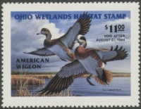 Scan of 1997 Ohio Duck Stamp