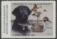 Scan of 1991 South Carolina Duck Stamp