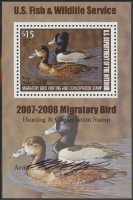 Scan of RW74B 2007 Duck Stamp