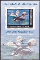 Scan of RW76B 2009 Duck Stamp
