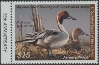 Scan of RW75 2008 Duck Stamp Grade 98