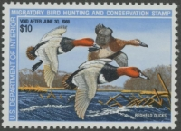 Scan of RW54 1987 Duck Stamp