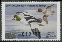 Scan of 1999 Kentucky Duck Stamp