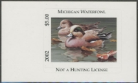 Scan of 2002 Michigan Duck Stamp