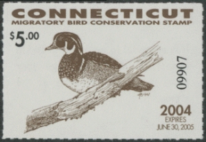 Scan of 2004 Connecticut Duck Stamp