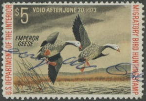 Scan of RW39 1972 Duck Stamp