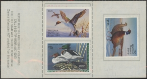 Scan of RW61 1994 Duck Stamp