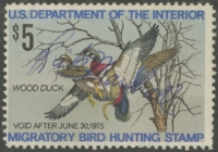 Scan of RW41 1974 Duck Stamp