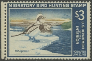 Scan of RW34 1967 Duck Stamp