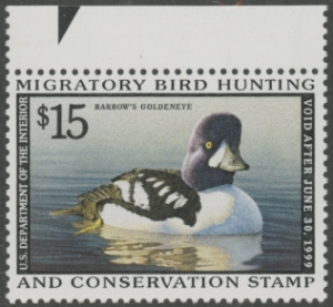 Scan of RW65 1998 Federal Duck Stamp