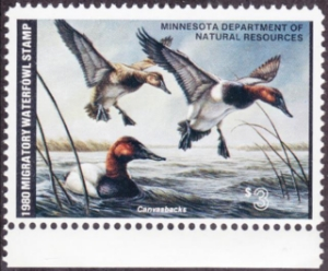 Scan of 1980 Minnesota Duck Stamp