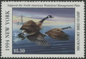Scan of 1994 New York Duck Stamp