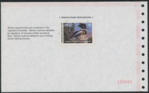 Scan of 2000 Minnesota Duck Stamp