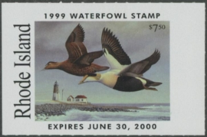 Scan of 1999 Rhode Island Duck Stamp