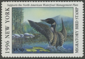 Scan of 1996 New York Duck Stamp