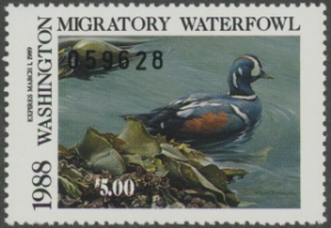 Scan of 1988 Washington Duck Stamp