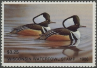 Scan of 1988 Wisconsin Duck Stamp