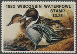 Scan of WI5 1982 Duck Stamp MNH VF