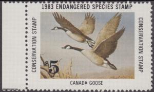 Scan of 1983 Endangered Species Stamp