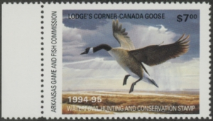 Scan of 1994 Arkansas Duck Stamp