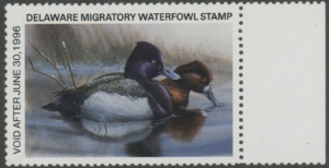 Scan of 1995 Delaware Duck Stamp