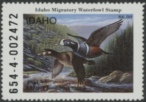Scan of 1994 Idaho Duck Stamp