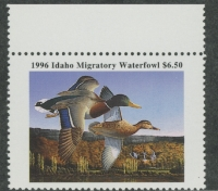 Scan of 1996 Idaho Duck Stamp