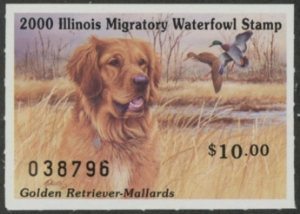 Scan of 2000 Illinois Duck Stamp
