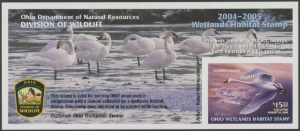 Scan of 2004 Ohio Duck Stamp