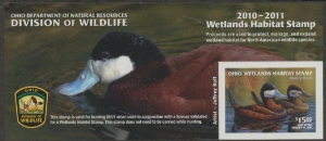 Scan of 2010 Ohio Duck Stamp
