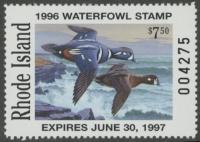 Scan of 1996 Rhode Island Duck Stamp