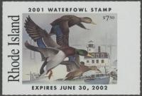 Scan of 2001 Rhode Island Duck Stamp