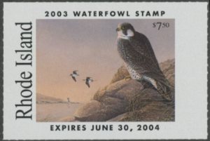 Scan of 2003 Rhode Island Duck Stamp
