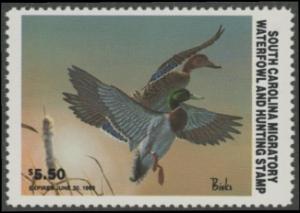 Scan of 1982 South Carolina Duck Stamp