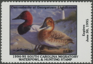Scan of 1994 South Carolina Duck Stamp