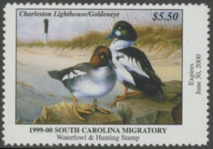 Scan of 1999 South Carolina Duck Stamp