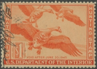 Scan of RW11 1944 Duck Stamp