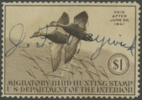 Scan of RW7 1940 Duck Stamp