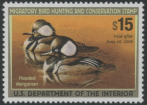 Scan of RW72 2005 Duck Stamp Grade 98 MNH Sup