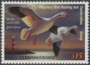 Scan of RW70 2003 Duck Stamp