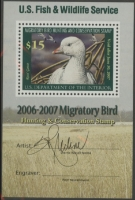 Scan of RW73B 2006 Duck Stamp