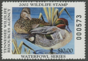 Scan of 2010 Tennessee Duck Stamp