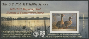 Scan of RW78A 2011 Duck Stamp